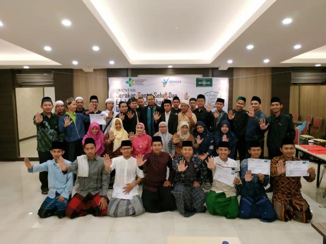 Al-Hikam Turut Serta Gerakan Santri Sehat