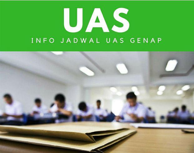 Pemberitahuan UAS Semester Genap 2017