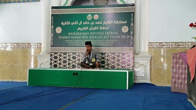 Mahasiswa STAIMA Juara 1 di MHQ (Musabaqoh Hifdzil Qur'an)  di Jakarta