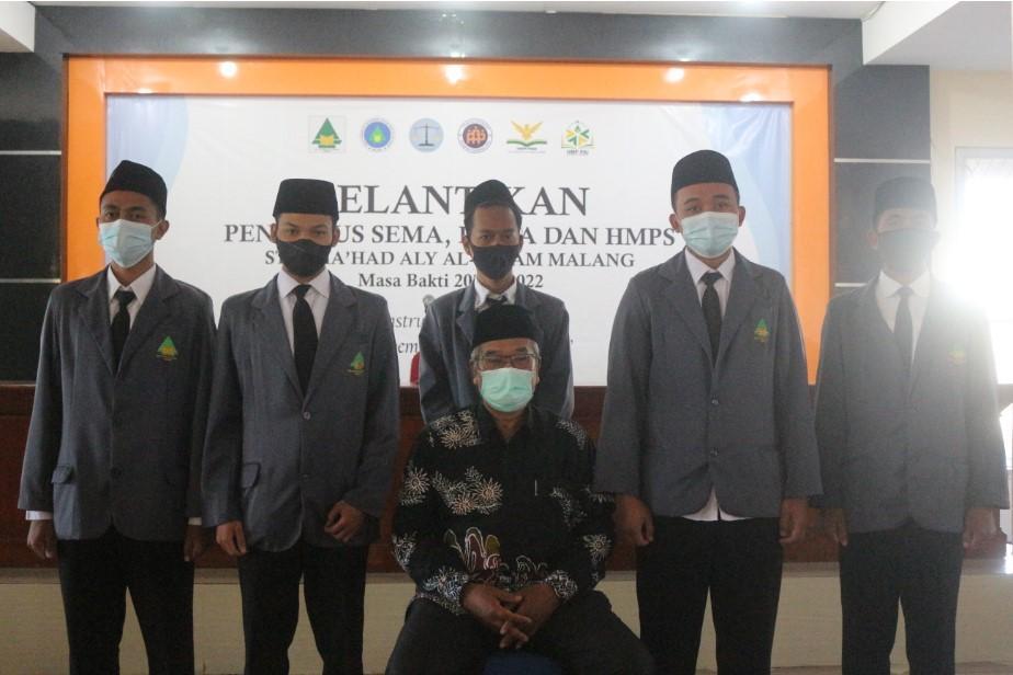 DEMA, SEMA, dan HMPS STAI Ma'had Aly Al-Hikam Malang Resmi Dilantik
