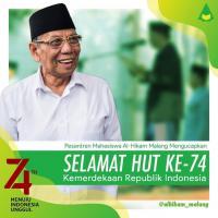 Dirgahayu ke-74 Indonesia-ku