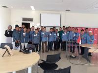 Tingkatkan Skill Bahasa Inggris, Santri Al-Hikam Kunjungi Ma Chung