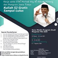 Beasiswa Guru Madin Program S2 Prodi Pendidikan Agama Islam