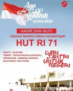 HUT RI 71 Santri Al-Hikam Malang