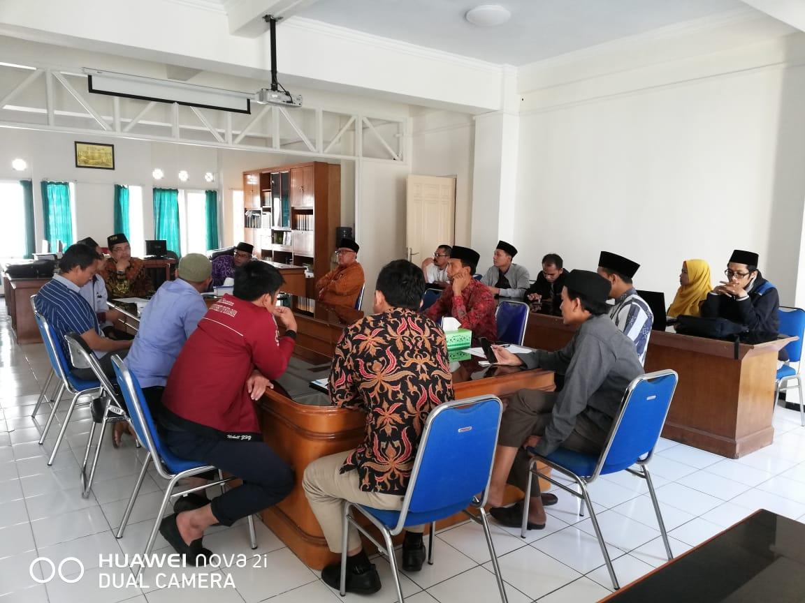 Rapat Koordinasi Persiapan Menghadapai Tahun Ajaran Baru 2019