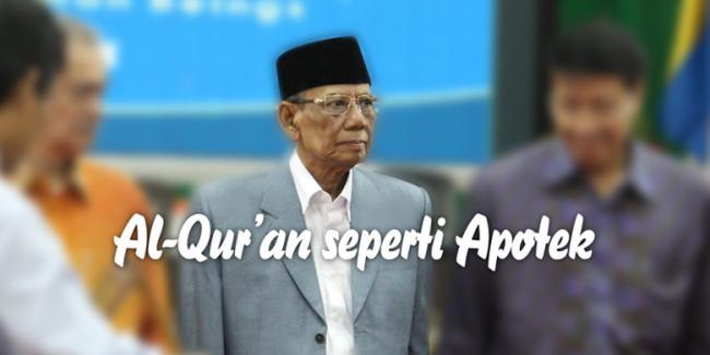 Al-Quran seperti Apotek